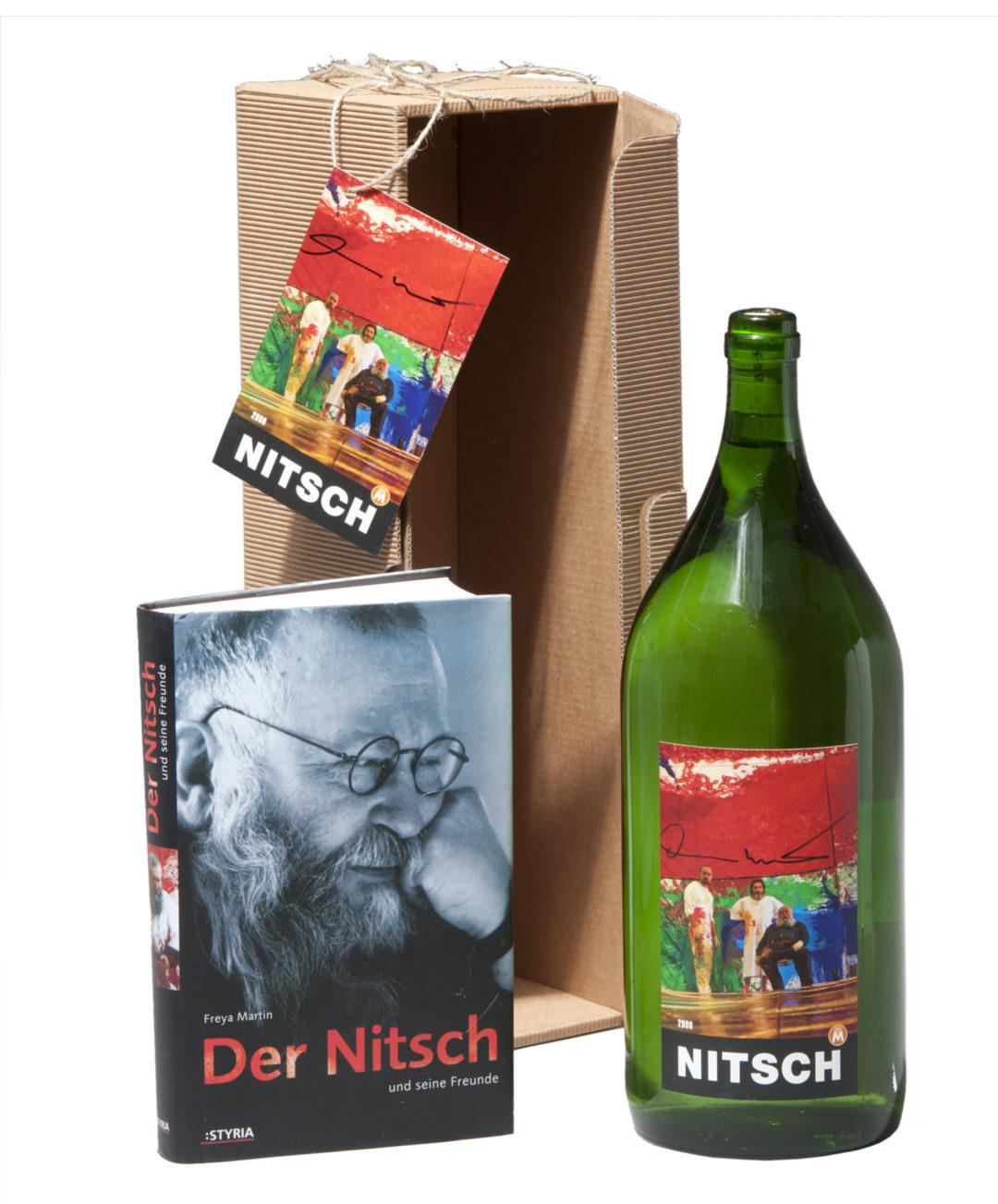 Nitschwein mit Buch